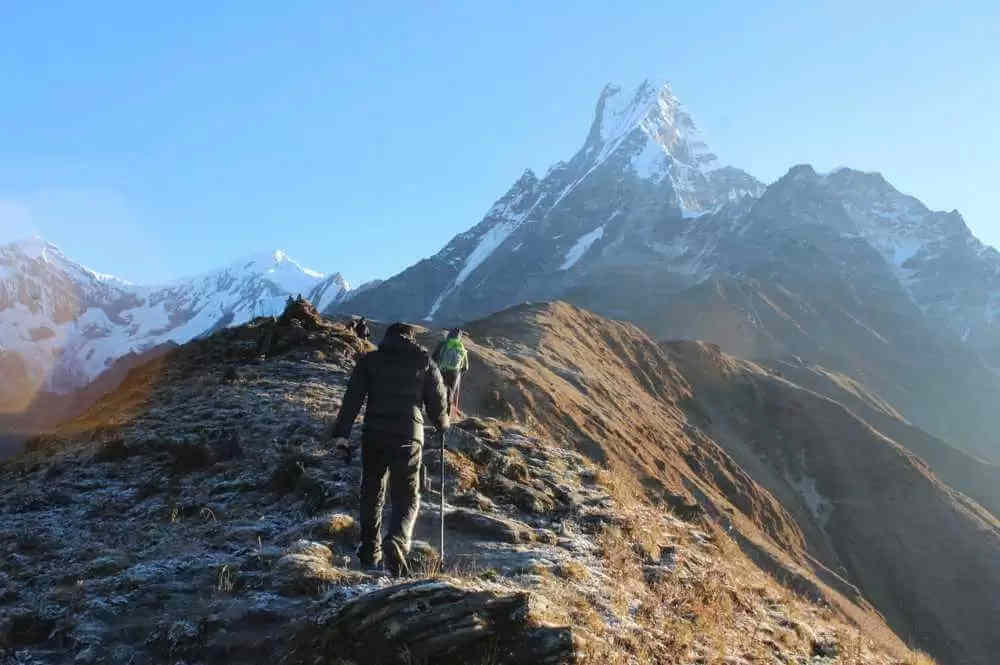 Mardi Peak Climbing