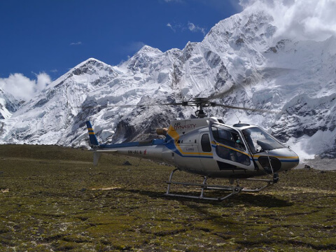 Everest Base Camp Helicopter Flight Landing Tour