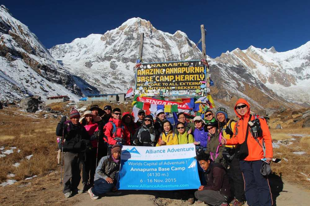 Ghorepani Poon Hill & Annapurna Base Camp Trek